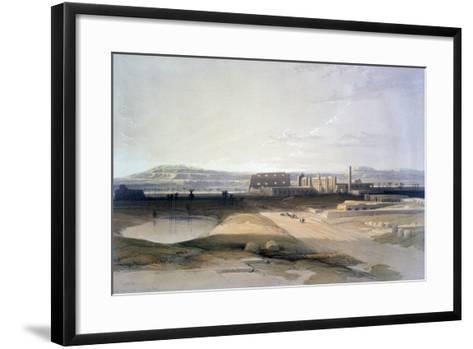 Karnac, 19th Century-David Roberts-Framed Art Print