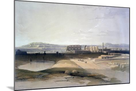 Karnac, 19th Century-David Roberts-Mounted Giclee Print