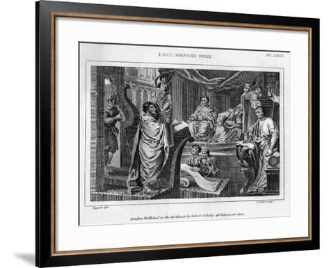 Paul before Felix, 18th Century-DB Pyet-Framed Art Print