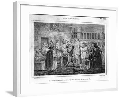 The Fire-Eater, 18th Century-DB Pyet-Framed Art Print