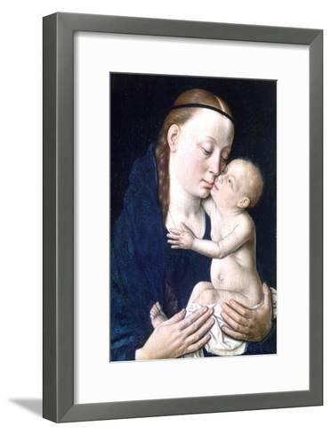 Virgin and Child, 15th Century-Dieric Bouts-Framed Art Print