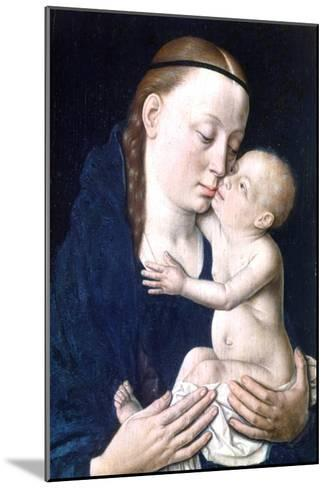 Virgin and Child, 15th Century-Dieric Bouts-Mounted Giclee Print