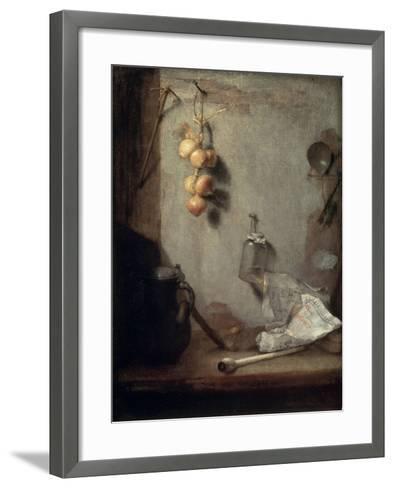 Still Life, 1660-Christoph Paudiss-Framed Art Print