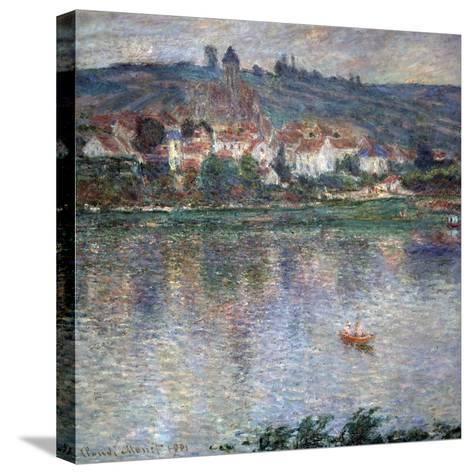 Village Vétheuil, 1901-Claude Monet-Stretched Canvas Print