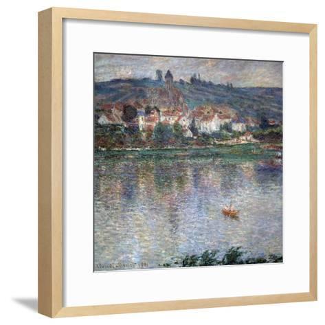 Village Vétheuil, 1901-Claude Monet-Framed Art Print