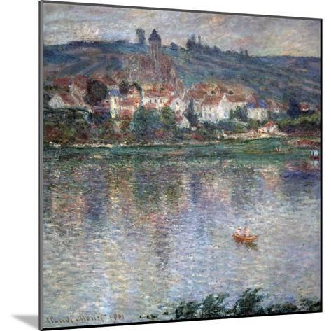 Village Vétheuil, 1901-Claude Monet-Mounted Giclee Print