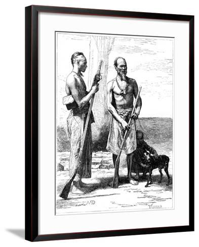 Mountain Huntsmen, Formosa (Taiwa), 19th Century-D Maillard-Framed Art Print