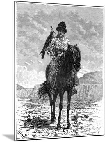 A Falconer, Turkestan, 19th Century- Delort-Mounted Giclee Print