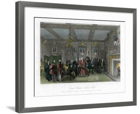 Council Chamber, Vintners' Hall, City of London-E Redclyffe-Framed Art Print