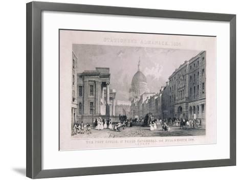 Old General Post Office, St Martin's Le Grand, London, 1829-CJ Emblem-Framed Art Print