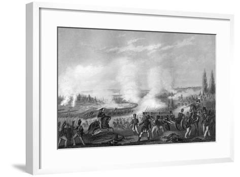Battle of Talavera, Spain, 27-28 July 1809-DJ Pound-Framed Art Print