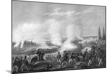 Battle of Talavera, Spain, 27-28 July 1809-DJ Pound-Mounted Giclee Print