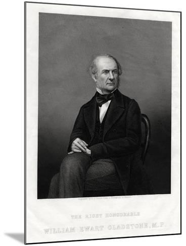 William Ewart Gladstone Mp, British Liberal Prime Minister, 1880-DJ Pound-Mounted Giclee Print