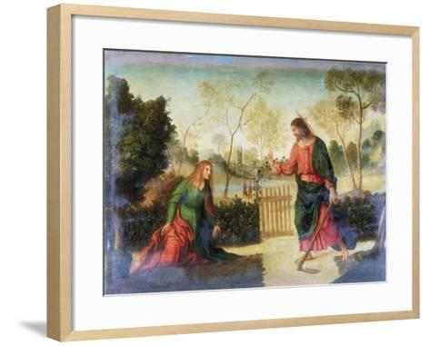 Noli Me Tangere, Early 16th Century-Dosso Dossi-Framed Art Print