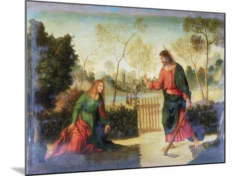 Noli Me Tangere, Early 16th Century-Dosso Dossi-Mounted Giclee Print