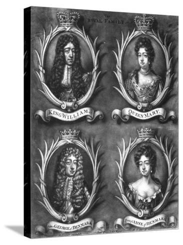 The Royal Family-Cooper-Stretched Canvas Print