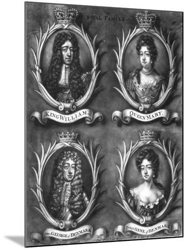 The Royal Family-Cooper-Mounted Giclee Print