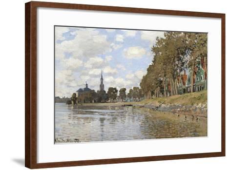 Zaandam, 1871-Claude Monet-Framed Art Print
