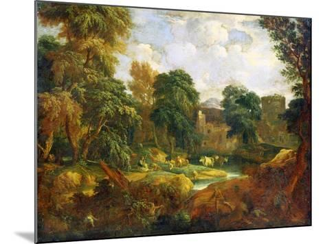 Flanders Landscape, 17th or Early 18th Century-Cornelis Huysmans-Mounted Giclee Print