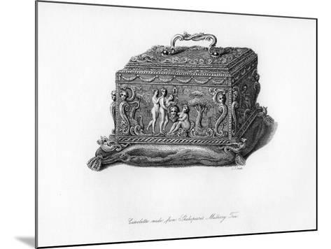 Carved Cassolette Made from the Wood of Shakespeare's Mulberry Tree, C18th Century-CJ Smith-Mounted Giclee Print
