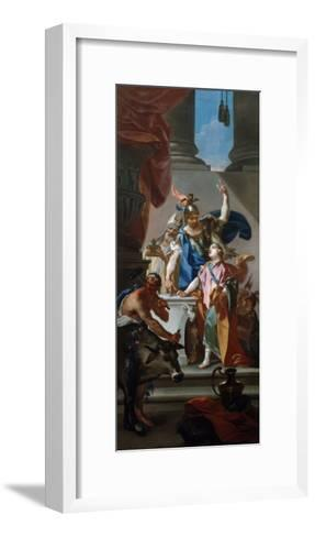 Scene from the Life of Hannibal, 18th Century-Claudio Francesco Beaumont-Framed Art Print