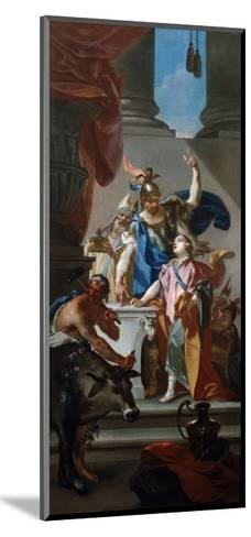 Scene from the Life of Hannibal, 18th Century-Claudio Francesco Beaumont-Mounted Giclee Print