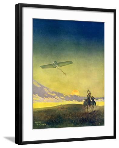 The Stranger, 1913-Daniel Mayo Bunker-Framed Art Print