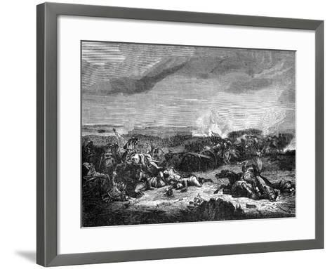 Battle of Champaubert, France, 10th February 1814 (1882-188)- Duvivier-Framed Art Print