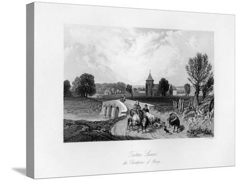 Trotton, Syssex, the Birth Place of Otway, 1840-CJ Smith-Stretched Canvas Print
