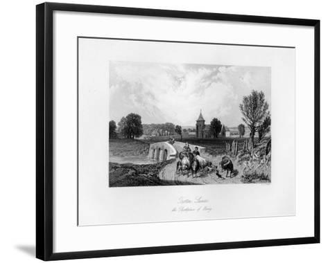 Trotton, Syssex, the Birth Place of Otway, 1840-CJ Smith-Framed Art Print