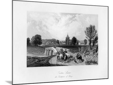 Trotton, Syssex, the Birth Place of Otway, 1840-CJ Smith-Mounted Giclee Print