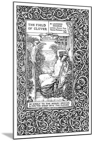 Title Page to the Field of Clover, 1899-Clemence Housman-Mounted Giclee Print