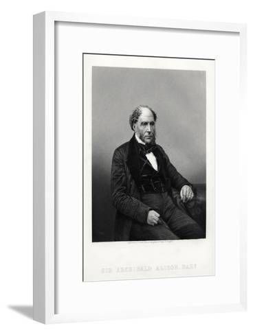 Archibald Alison, Scottish Didactic and Philosophical Writer, C1880-DJ Pound-Framed Art Print