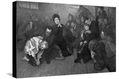 A Salvation Army Shelter, 1898-E Borough Johnson-Stretched Canvas Print