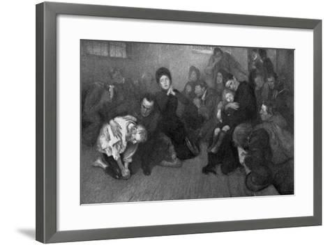 A Salvation Army Shelter, 1898-E Borough Johnson-Framed Art Print