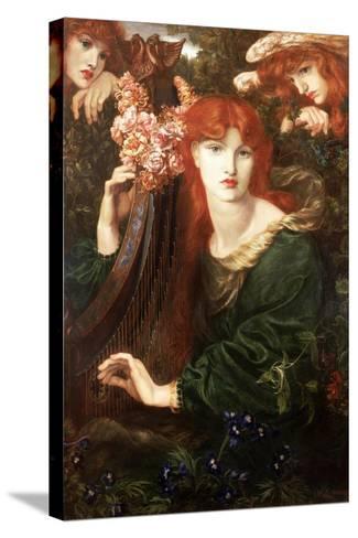 La Ghirlandata, 1873-Dante Gabriel Rossetti-Stretched Canvas Print