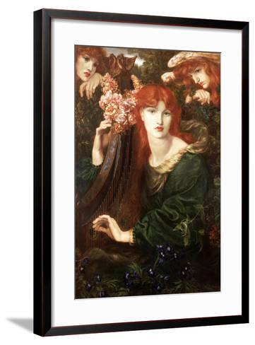 La Ghirlandata, 1873-Dante Gabriel Rossetti-Framed Art Print