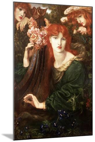 La Ghirlandata, 1873-Dante Gabriel Rossetti-Mounted Giclee Print