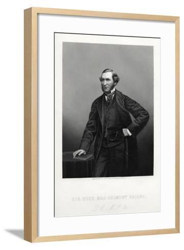 Sir Hugh Mac-Calmont Cairns, British Statesman, C1880-DJ Pound-Framed Art Print