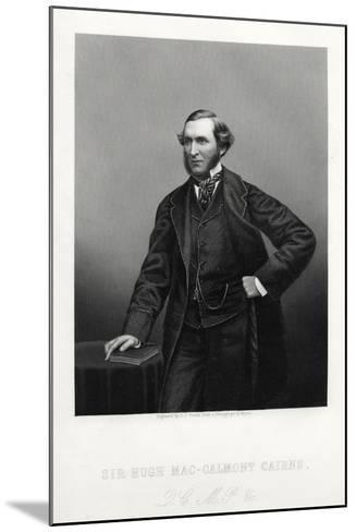 Sir Hugh Mac-Calmont Cairns, British Statesman, C1880-DJ Pound-Mounted Giclee Print
