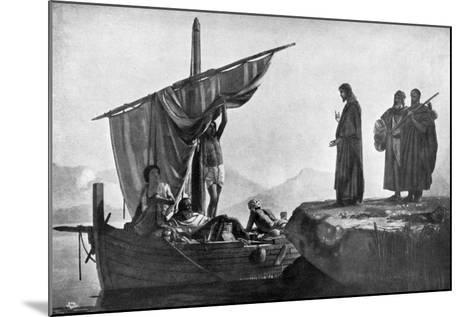 Christ Calling the Apostles James and John, 1926-Edward Armitage-Mounted Giclee Print