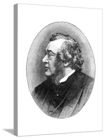 Norman Macleod, 19th Century Scottish Theologian, Author and Social Reformer-Elliott & Fry-Stretched Canvas Print