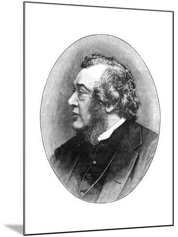 Norman Macleod, 19th Century Scottish Theologian, Author and Social Reformer-Elliott & Fry-Mounted Giclee Print