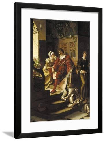 Duty, 1883-Edmund Blair Leighton-Framed Art Print