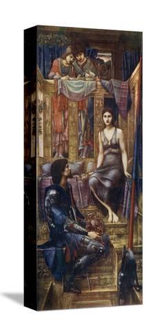 King Cophetua and the Beggar Maid, 1884-Edward Burne-Jones-Stretched Canvas Print