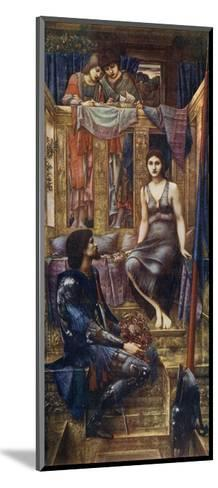 King Cophetua and the Beggar Maid, 1884-Edward Burne-Jones-Mounted Giclee Print