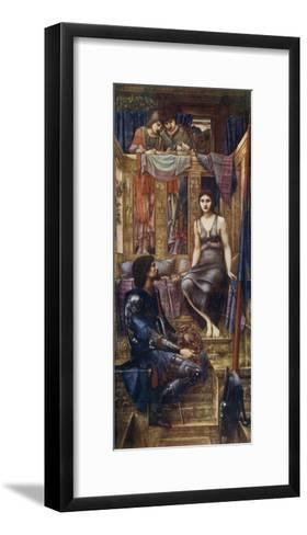 King Cophetua and the Beggar Maid, 1884-Edward Burne-Jones-Framed Art Print