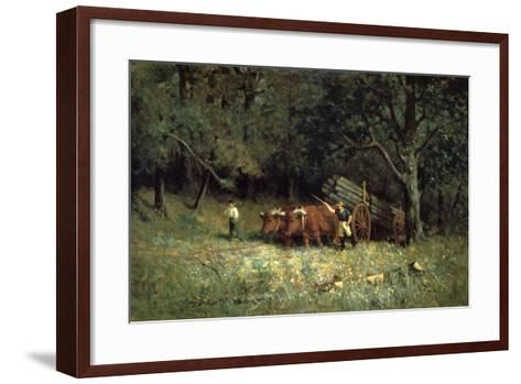 Driving Home the Cows, 1881-Edward Mitchell Bannister-Framed Art Print