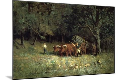 Driving Home the Cows, 1881-Edward Mitchell Bannister-Mounted Giclee Print