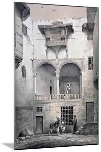 House of Beyt El-Tcheleby, 19th Century-Emile Prisse d'Avennes-Mounted Giclee Print